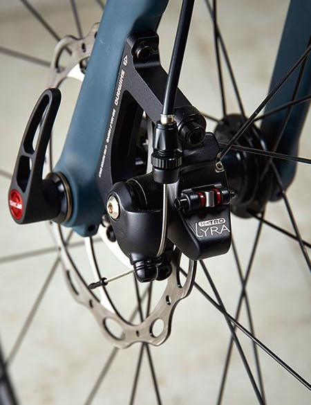 The TRP mechanical disc brakes worked well enough, but don't compare with hydraulic options
