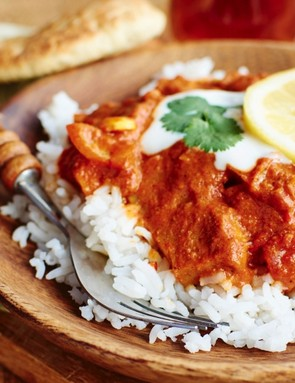 Tikka Masala with paratha bread isn't the best choice of Indian