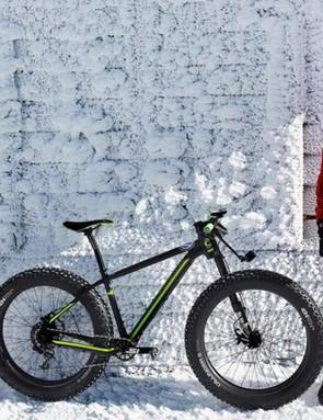 Tim Johnson climbed Mt. Washington on a fat bike