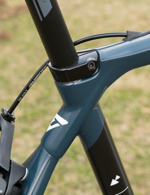 The whole seat cluster is different with the 21, and it uses a more conventional clamp