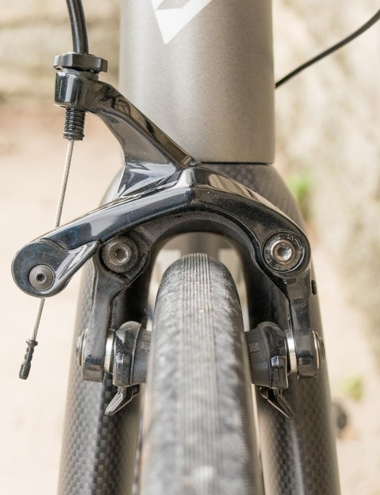 Clearance in the fork is similar to the back end