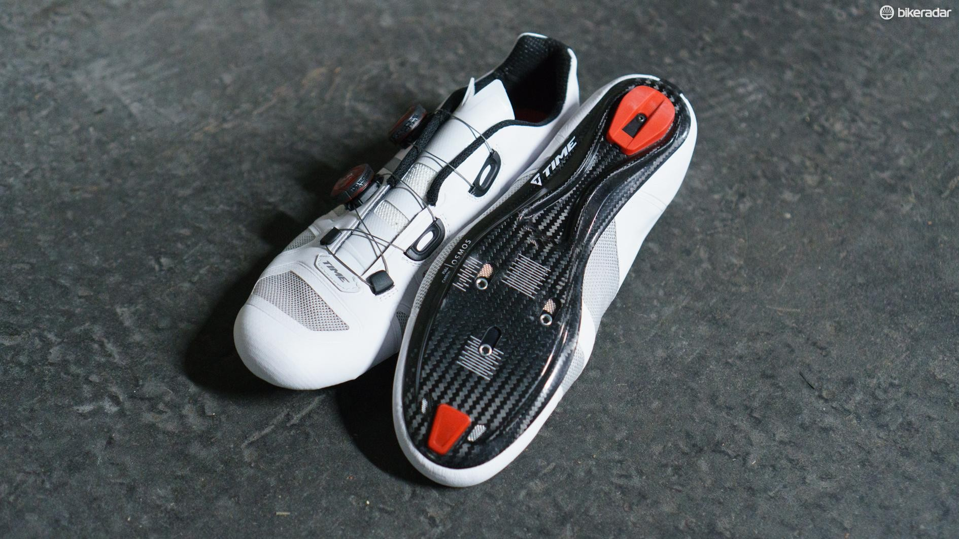 The shoes are available in three different price points. We have the top-end OSMOS 15.