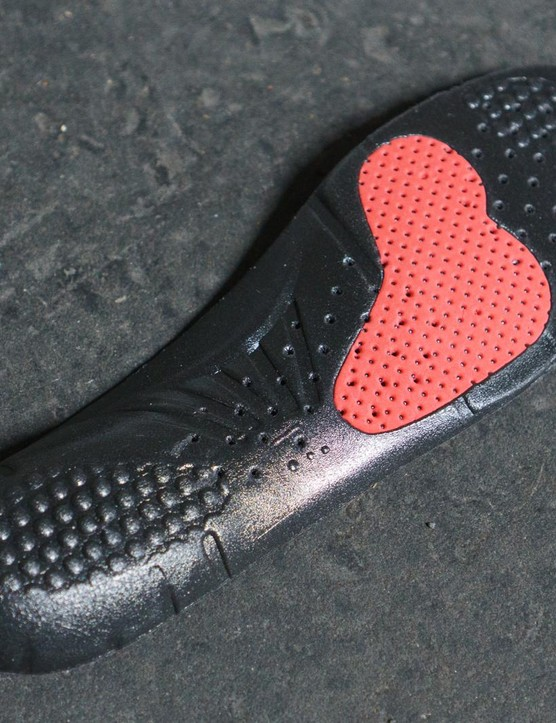 The insole is a dual-density affair