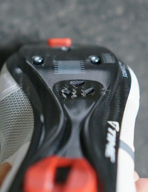 The sole is extensively vented