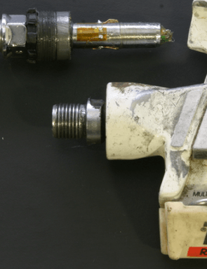 SRM produced these prototype Time pedal-based power meter back in 1988, before abandoning the project
