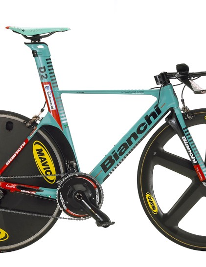 Team Barloworld riders have a new time trial bike at their disposal.