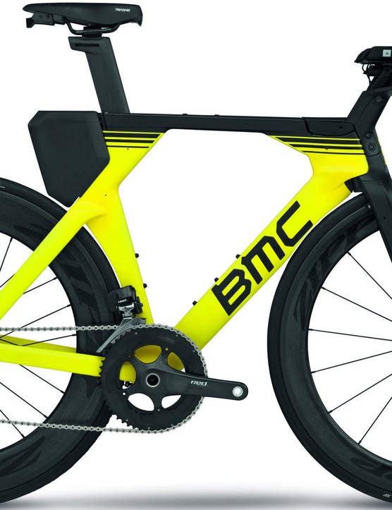 The BMC Timemachine 01 with SRAM Red eTap and V-Cockpit