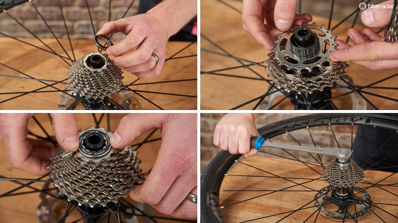 Tips for replacing a worn cassette