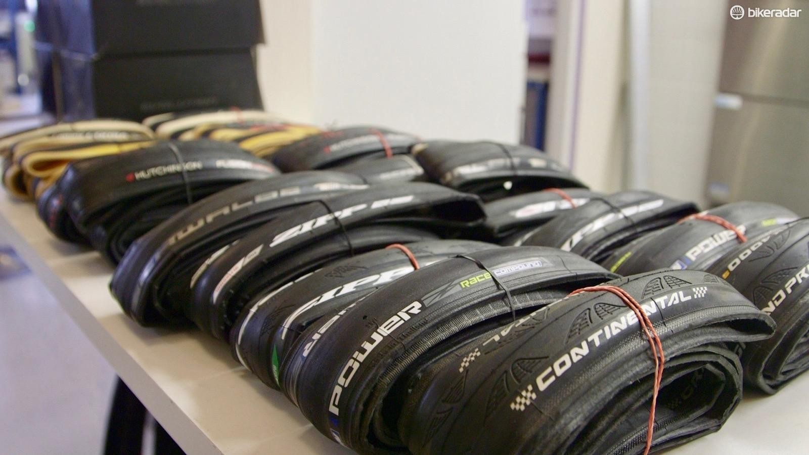Wheel Energy tested 10 pairs of performance tires for BikeRadar and the Power Competition was the fastest clincher