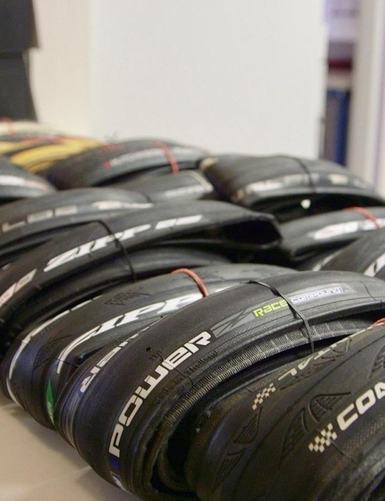 Wheel Energy tested 10 pairs of performance tyres for BikeRadar and the Power Competition was the fastest clincher