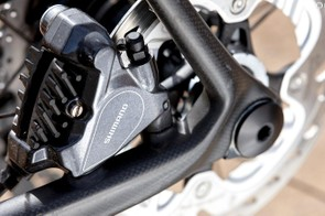 Shimano 805 brakes are great performers
