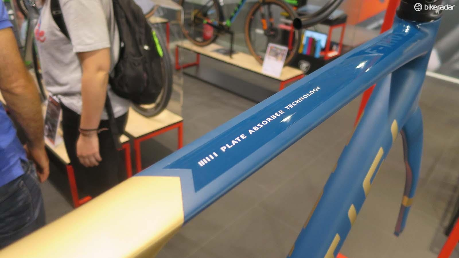 """We're glad Titici has renamed its flattened top tube design rather than the unfortunate """"flexi"""" name it was originally known by"""