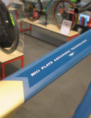 We're glad Titici has renamed its flattened top tube design rather than the unfortunate