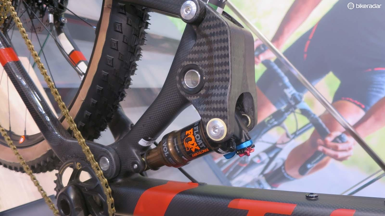 The carbon linkage looks suitably trick