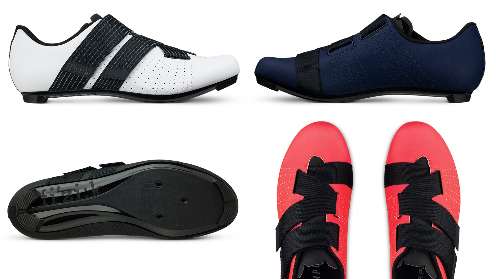 The new Fizik Tempo Powerstrap R5 Velcro road shoe