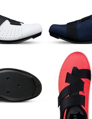 The new Fizik Tempo Powerstrap R5 Velcro road shoe