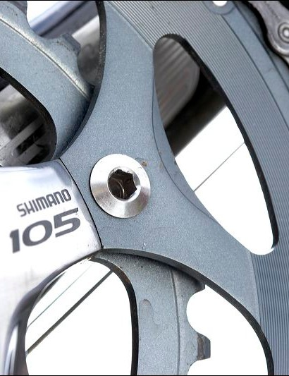 Reliable Shimano 105 componehnts and there's a triple option