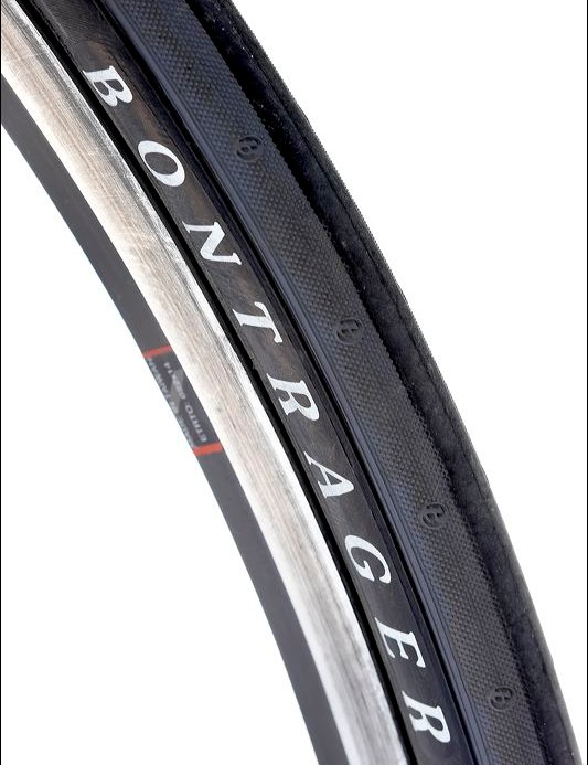 Bontrager tyres and rime keep weight down