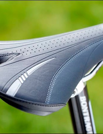 Bontrager saddle - padded in all the right places