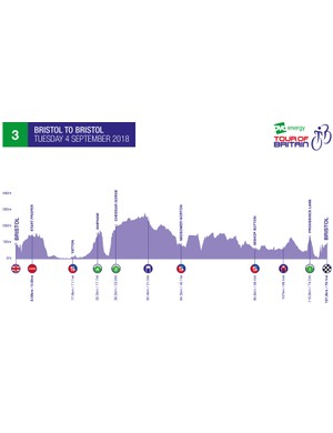 2018 Tour of Britain Stage 3