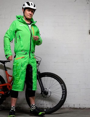 The Dirtsuit looks odd, but we've got high hopes for its performance