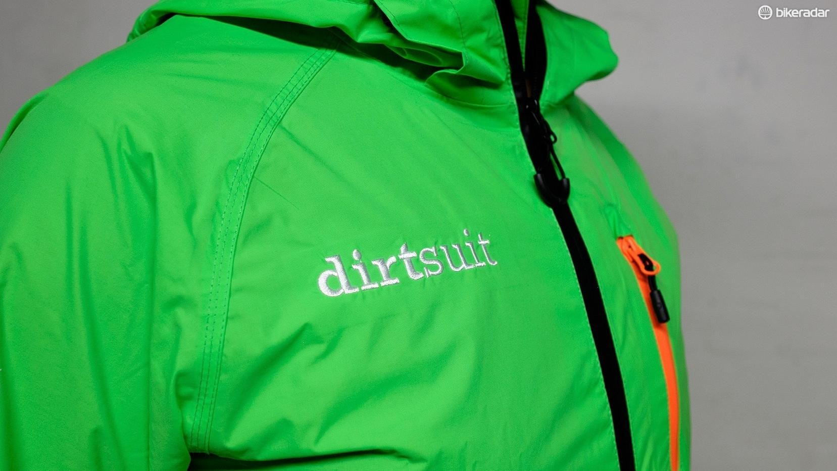 It's an all-in-one waterproof, meaning no gap at the back when your pack rides up
