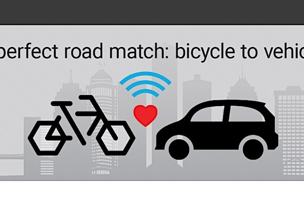 Trek and Tome are working on bike-to-car communication with Ford's support