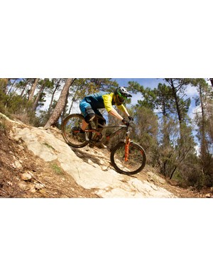 The rocky trails of Finale Ligure proved a great testing ground for the Stereo 150 29