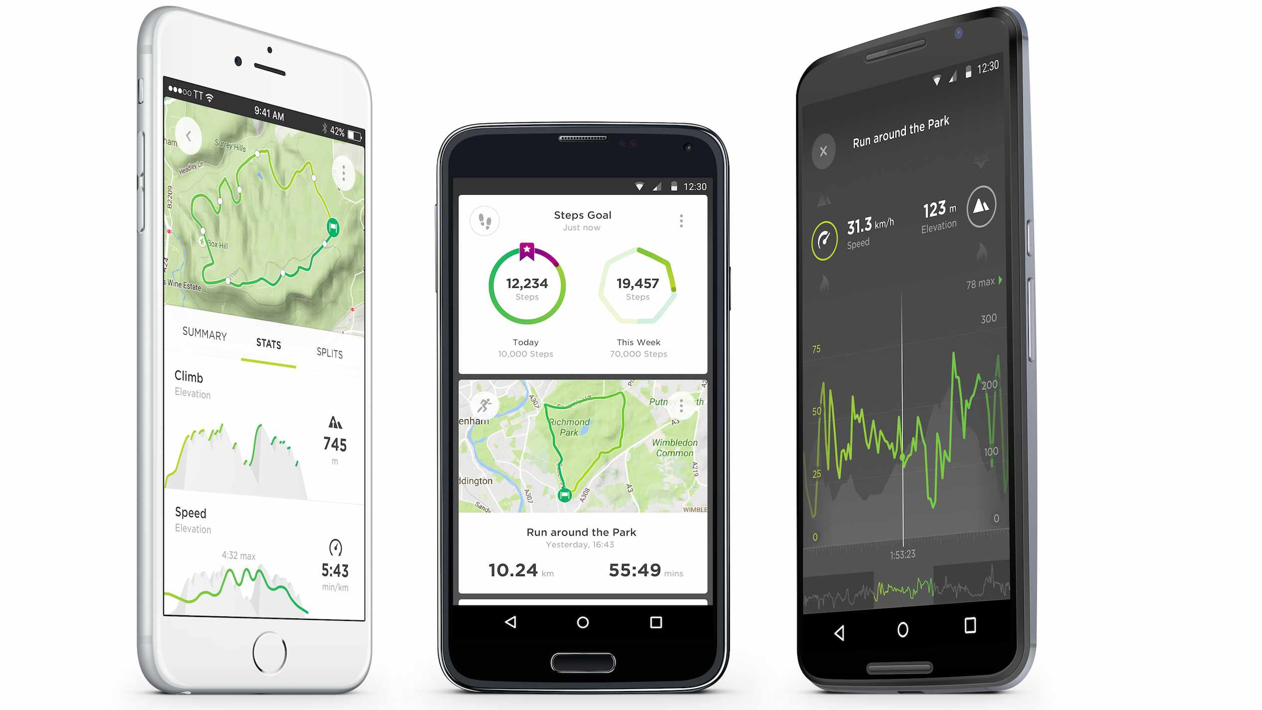 The TomTom Sports app promises to bring gentle encouragement