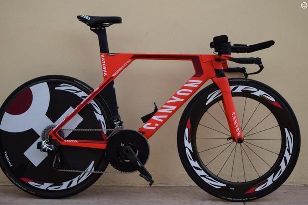 Tony Martin's Canyon Speedmax CF SLX