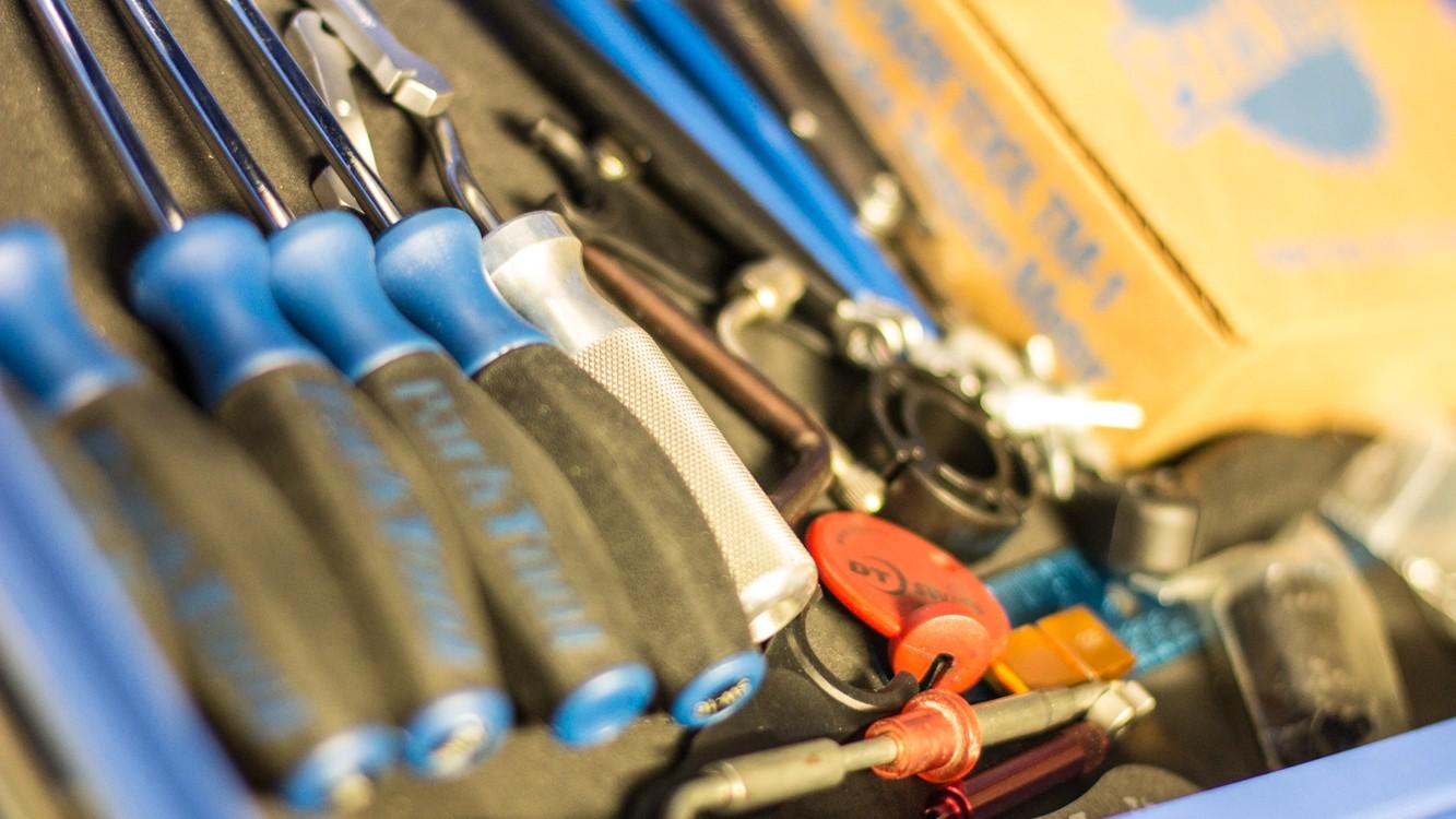 Tools, tools, wonderful tools