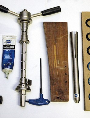 Tools required for the job