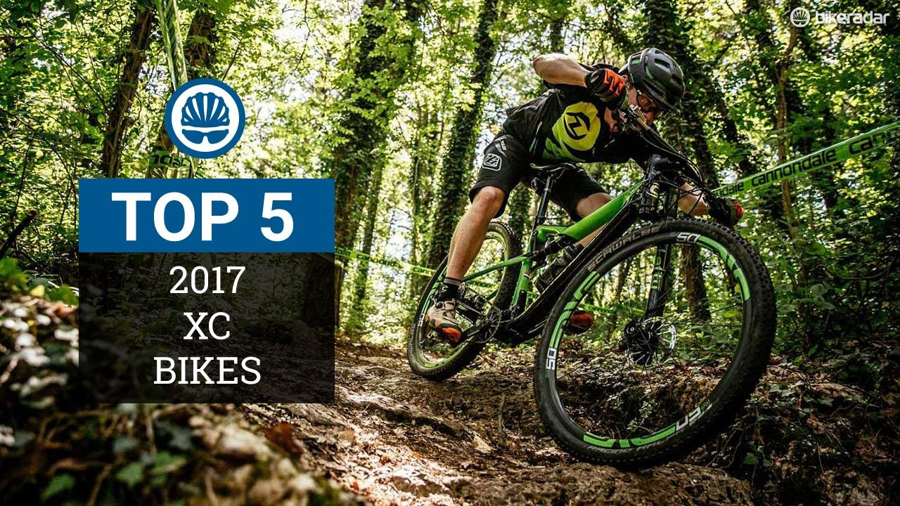 Here's a look at five of the most promising XC race bikes for 2017
