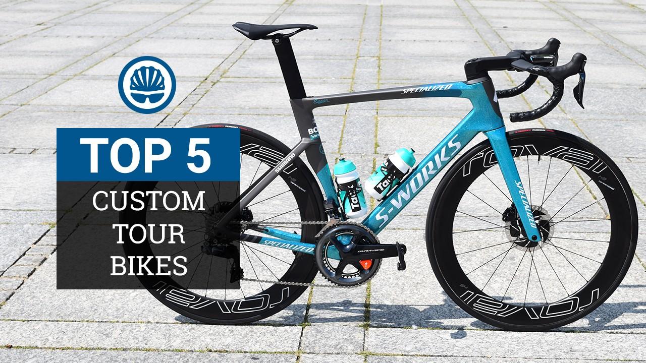 Top five custom Tour de France 2018 bikes