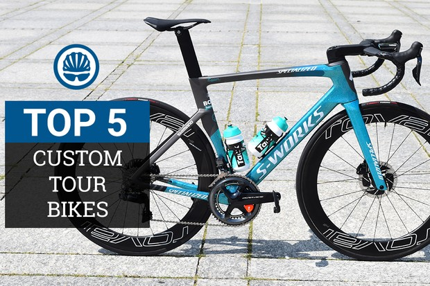 Top five custom Tour de France 2018 bikes