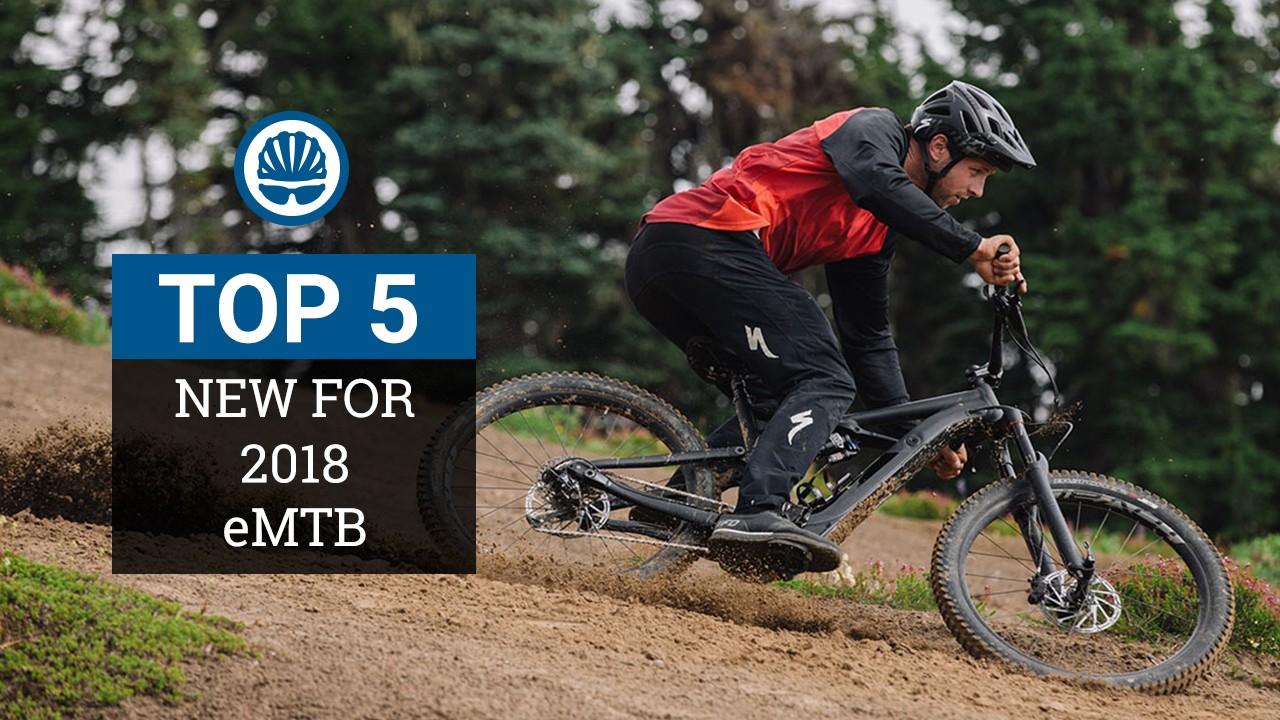 2018 e-mountain bikes
