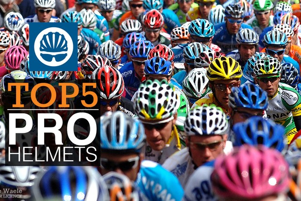 Top five helmets from the pro peloton