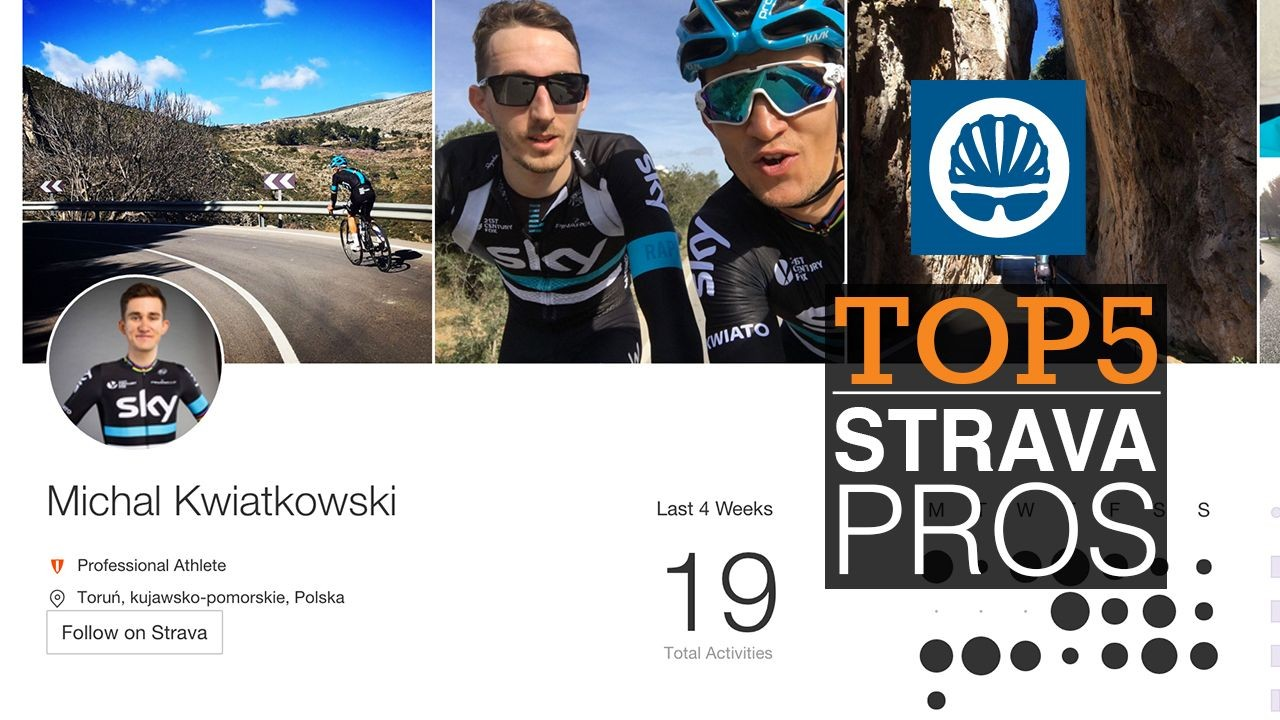 Our pick of the top 5 pro cyclists to follow on Strava