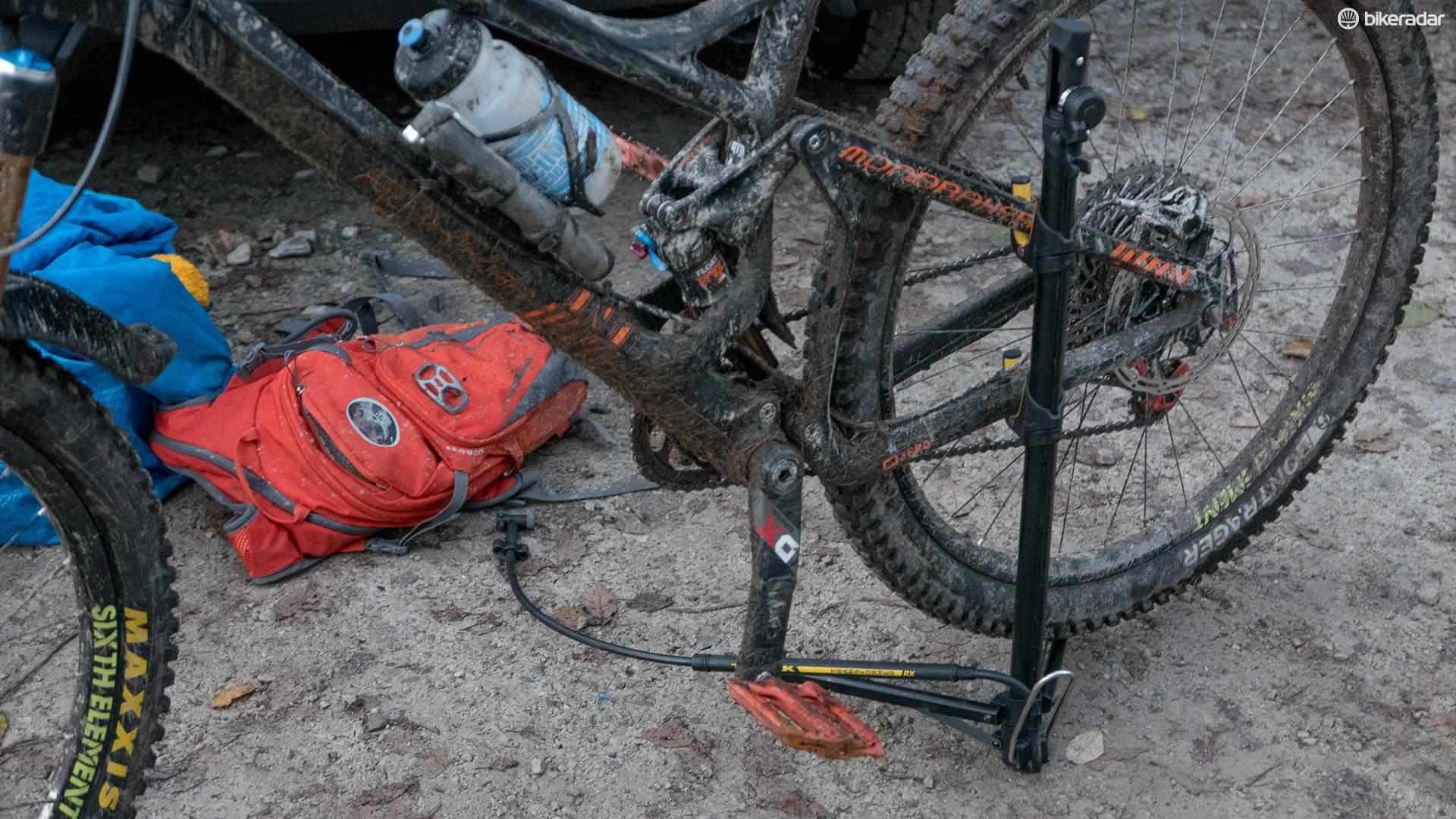 Topeak Transformer RX — a bike pump in disguise