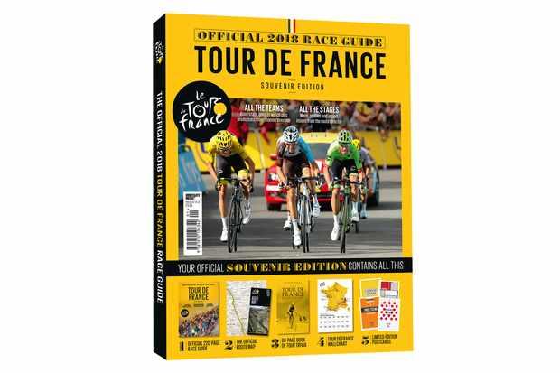 Get your Official 2018 Tour de France Race Guide on pre-order now