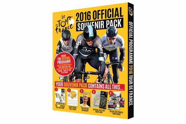 The Official Tour De France Guide 2016