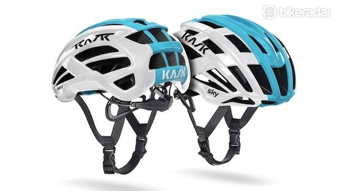 Kask announced this new Valegro helmet on stage 2 of the Tour de France