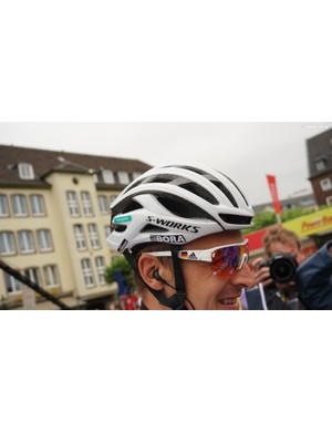 German champion Marcus Burghardt opts for the latest S-Works Prevail on stage 2