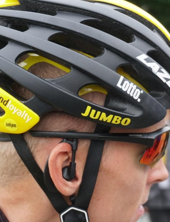 Lazer-sponsored riders have MIPS helmet choices