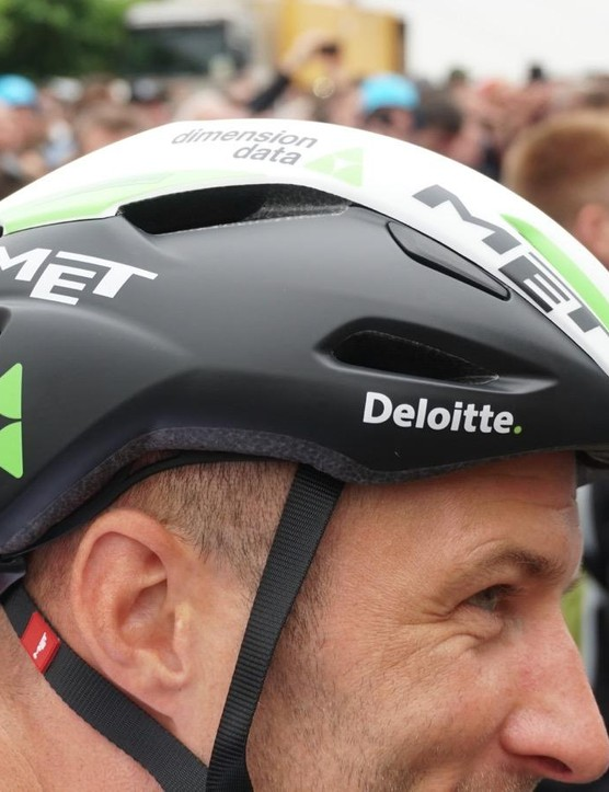 Most MET helmets are clearly branded as such