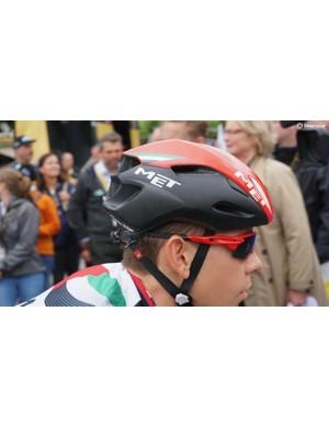 The Manta is MET's most aero helmet