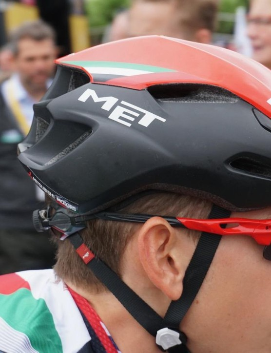 The Manta is MET's most aero helmet