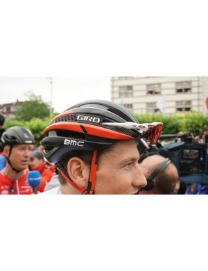 Giro's Synthe is still a popular lid for riders, with a blend of ventilation and aerodynamics