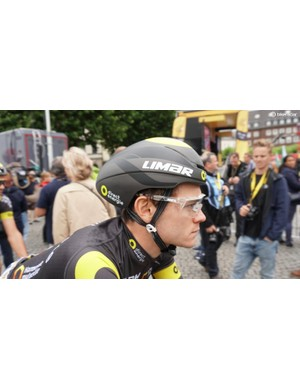 Limar's 007, however, is closer to a time-trial lid than an aero road helmet