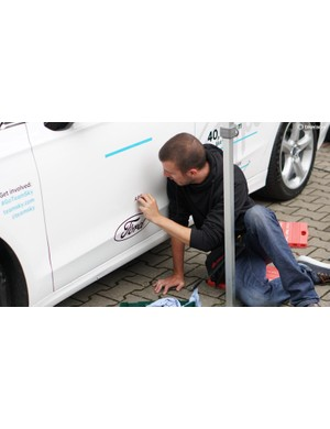 Team cars often get a refresh before the start of the Tour